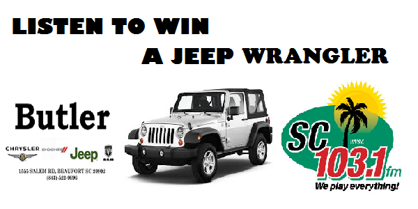 Good Win A Jeep Wrangler From SC 103.1 And Butler Chrysler Dodge Jeep Ram